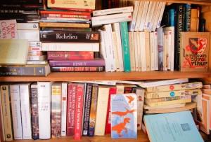 Bibliotheque pleine a craquer